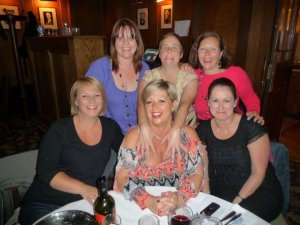 The Tammy Girls full line up: Deana, Me, Flash, Stell, Big Al and Kim