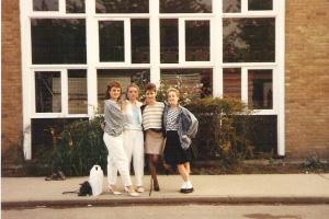 The Tammy Girls c 1986