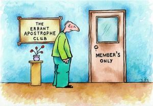 Errant Apostrophe