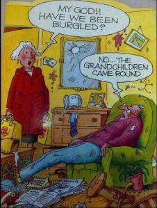 Funny-cartoon-Grandchildren