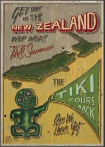 Tiki tour and wop wops