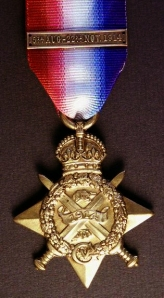 1914 Star and clasp