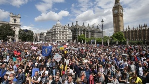 Pro EU demonstration